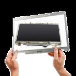 при включении ноутбука нет изображения на экране